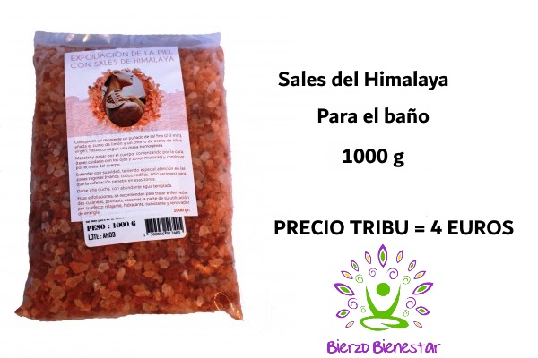 Sales Himalaya Baño 1 kg = 4€