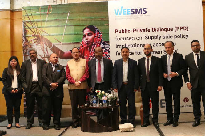The Asia Foundation Presents Public-Private Dialogue on Financial Inclusion for Rural Women SMEs in Bangladesh