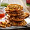 Crispy Firecracker Corn Fritters