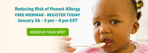 Join Our Webinar About New Peanut Allergy Guidelines