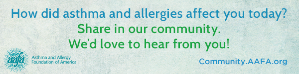 How did asthma and allergies affect you today?