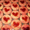 Thumbprint Cookies, Dairy and Egg Free
