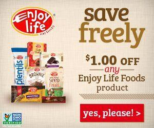 Enjoy LIfe Foods Coupon
