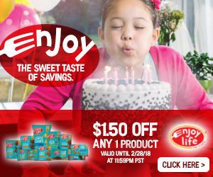 Enjoy Life Foods - Get a 25% off coupon code KFA25