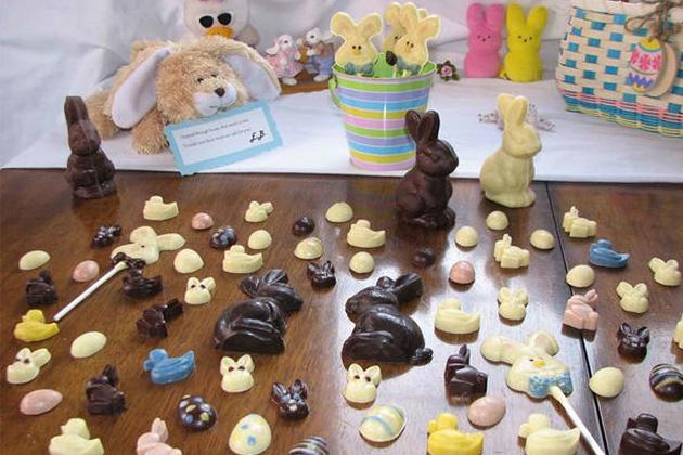 Allergy-Friendly Chocolate Easter Bunnies