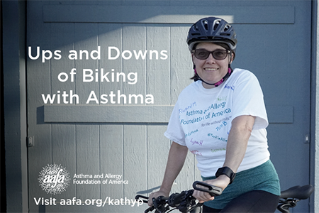 Kathy P Continues to Train to #TackleAsthma