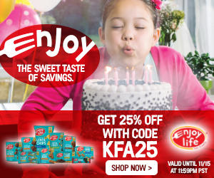 Enjoy Life - The sweet taste of savings