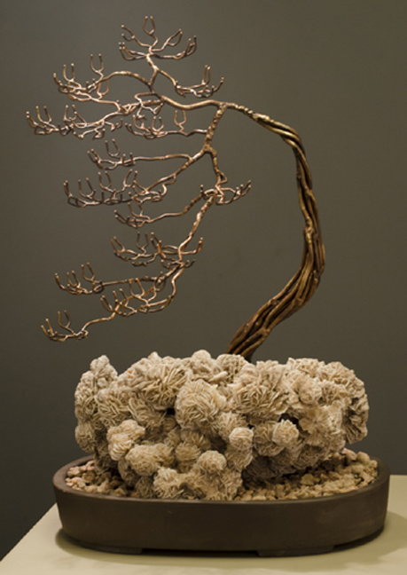 Desert Rose Bronze Bonsai by Sandy Ball Muckleroy