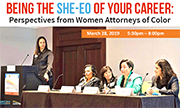 BEING THE SHE-EO OF YOUR CAREER