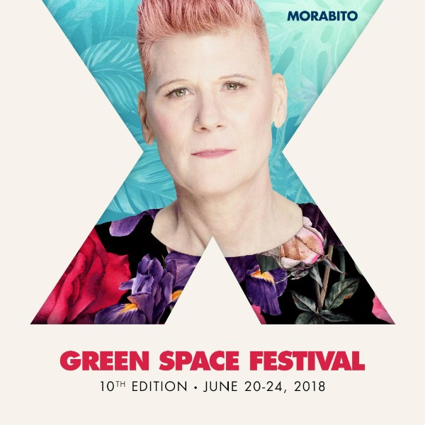 Morabito with text Green Space Festival, 10th Edition - June 20-24, 2018