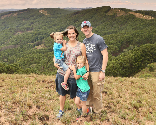 Floreen Family in the Vipya Forest Reserve