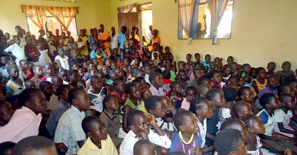 Children Watching HIV-AIDS Video