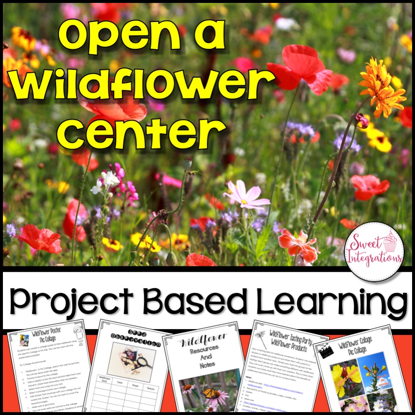 Open a Wildflower Center Product cover