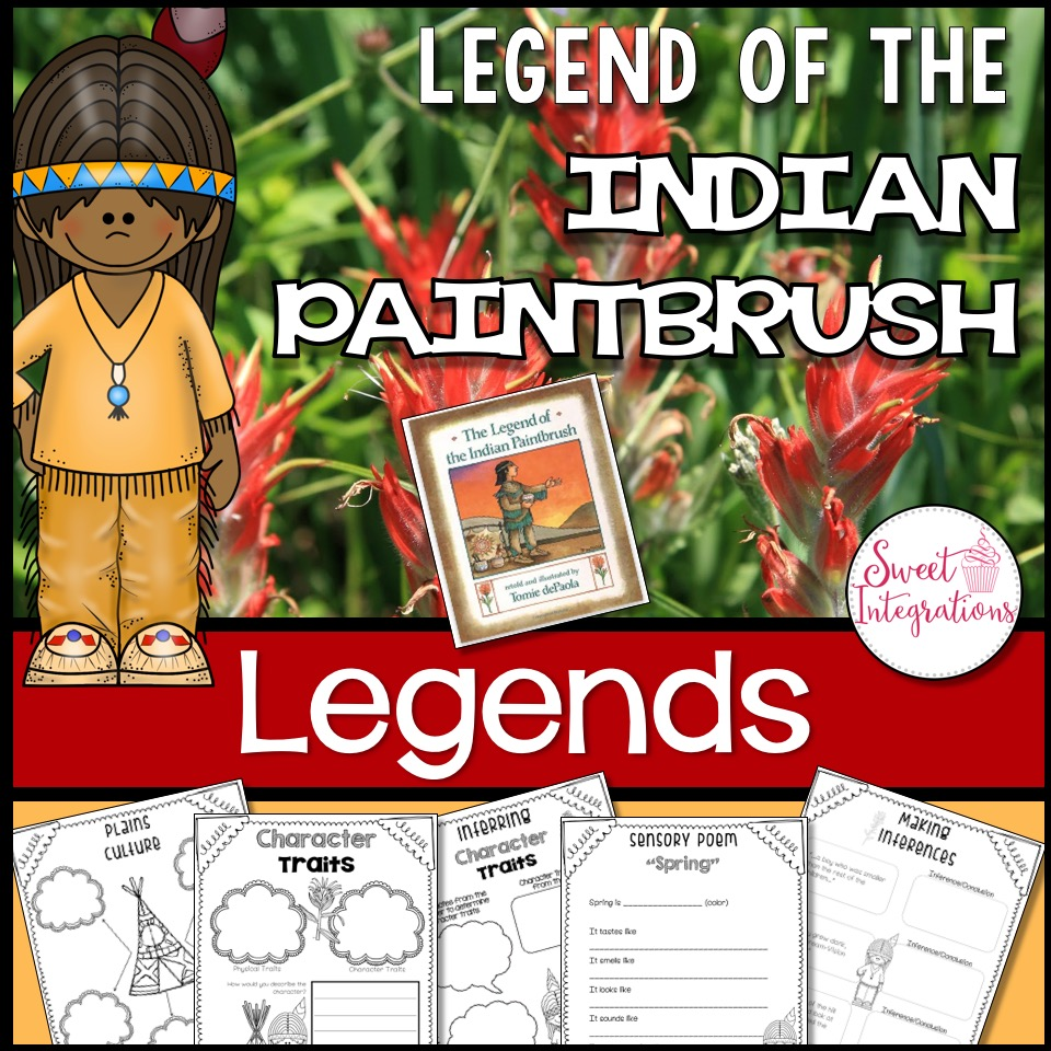 Legend of the Indian Paintbrush Product Cover