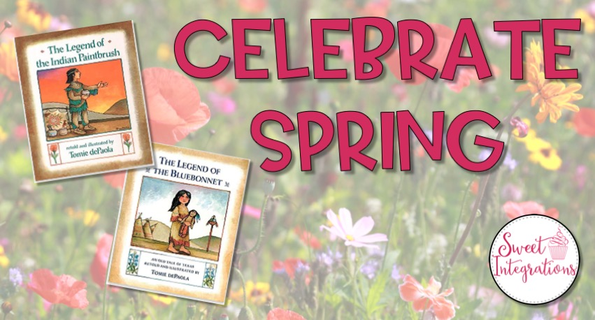 Celebrate Spring With Wildflowers and Legends - Featuring Tomie dePaola's books about wildflowers