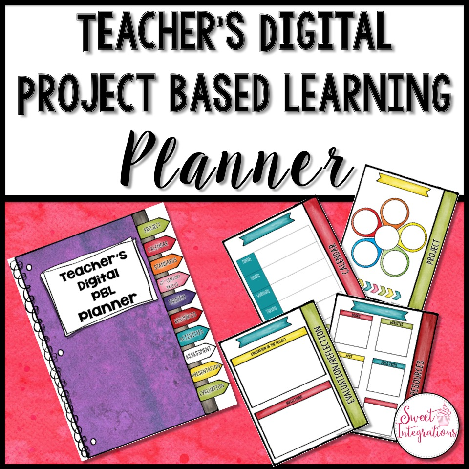 product cover for Teachers Digital PBL Planner