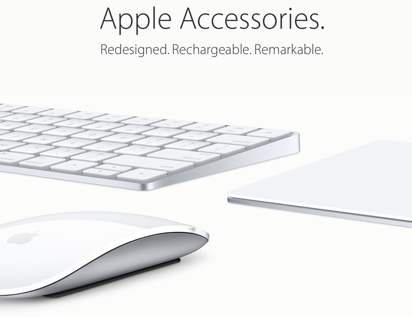 Apple Keyboard, Mouse, Trackpad