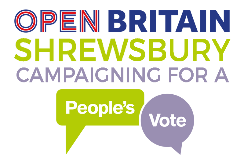 Open Britain Shrewsbury logo