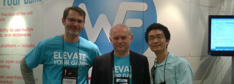 David, Yves, and a happy Wordfast user