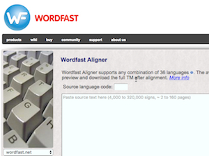 New Wordfast alignment tool