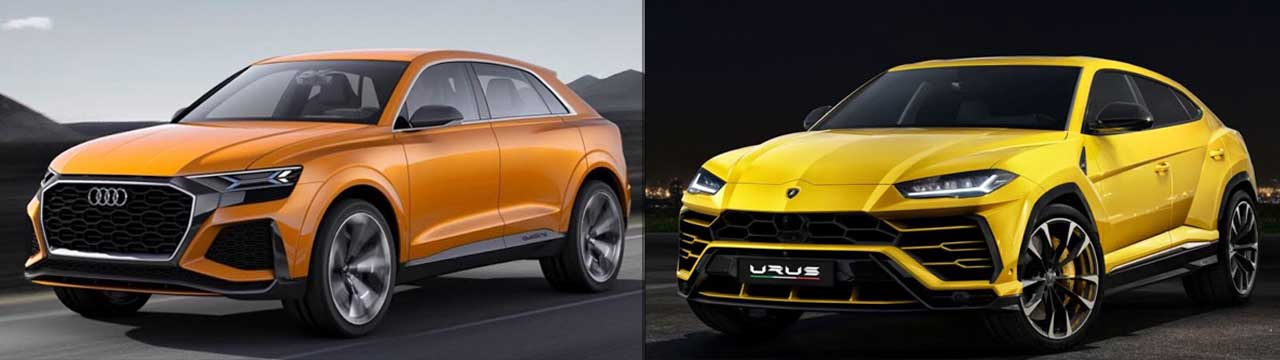 Is the New Audi Q7 Part Lamborghini?