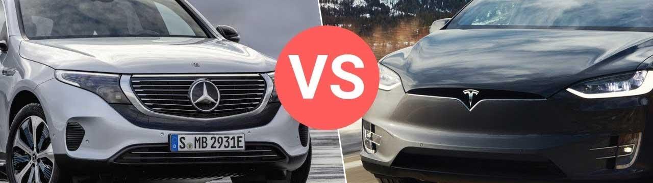 Mercedes-Benz EQC vs. Tesla Model X: Battle of the Electric SUVs