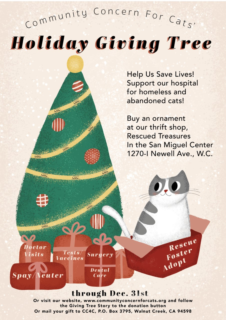 Holiday Giving Tree flyer