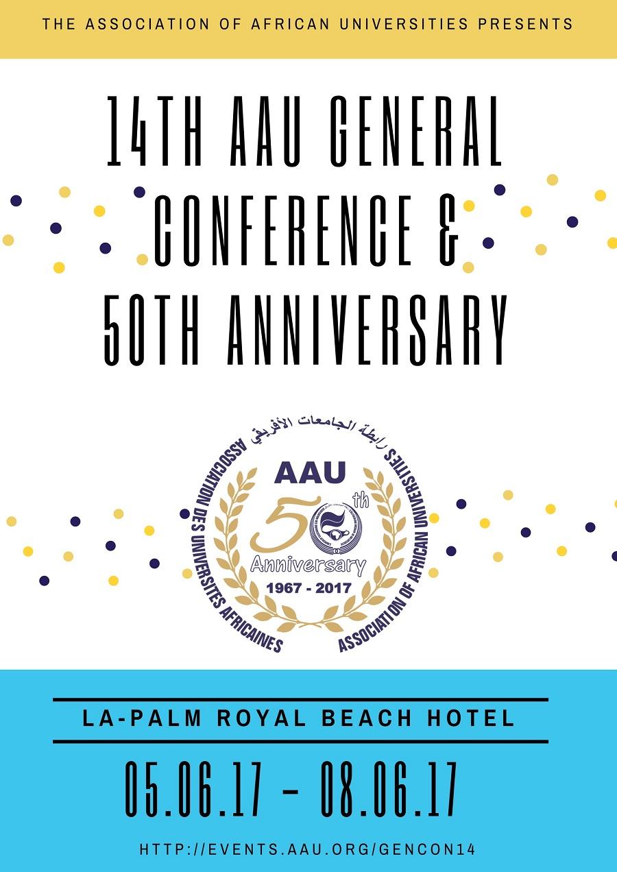 14ª Conferência Geral & celebrações do Jubileu de Ouro da Associação das Universidades - AAU