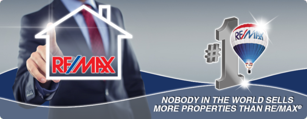 Nobody in the world sells more properties than Re/Max