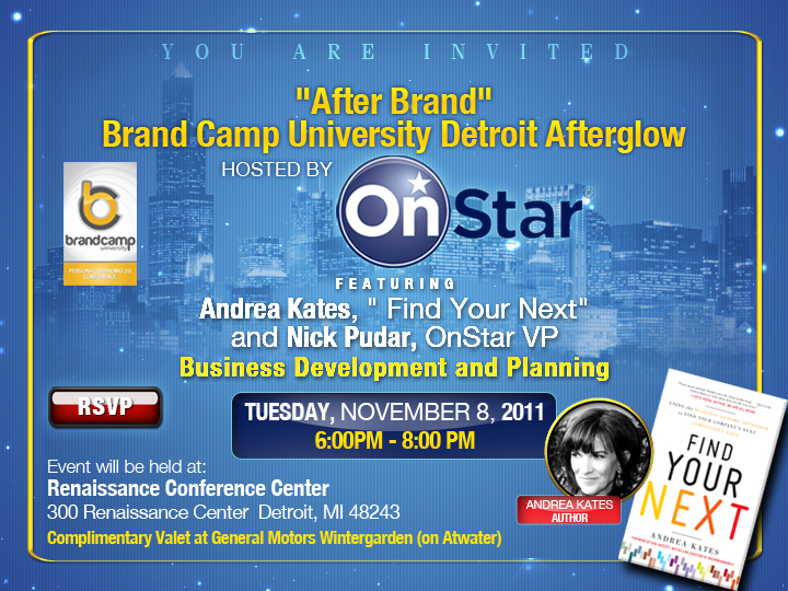 Brand Camp U - Detroit Afterglow