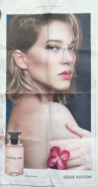 Louis Vuitton perfume ad