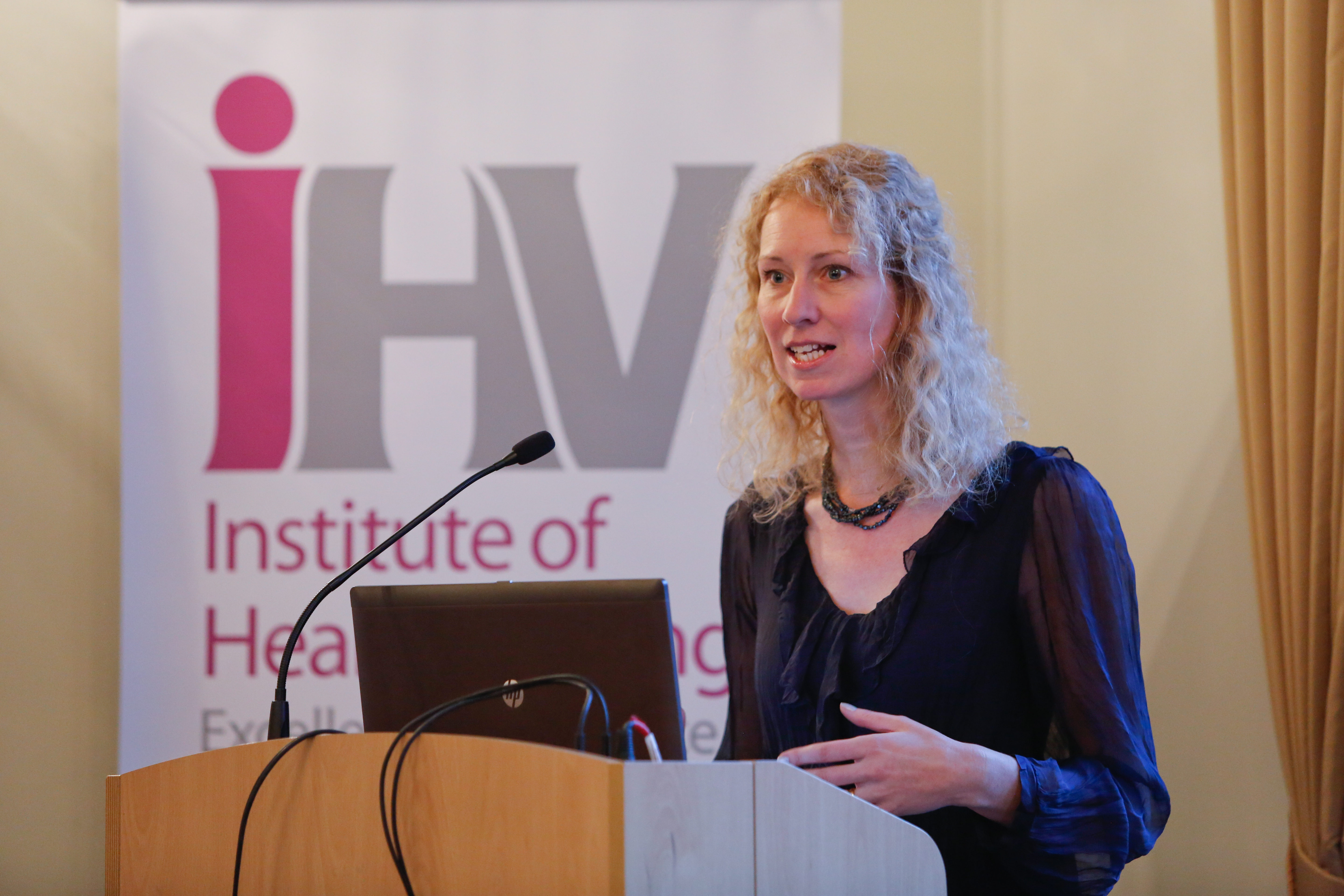 iHV Chair, Sally Russell