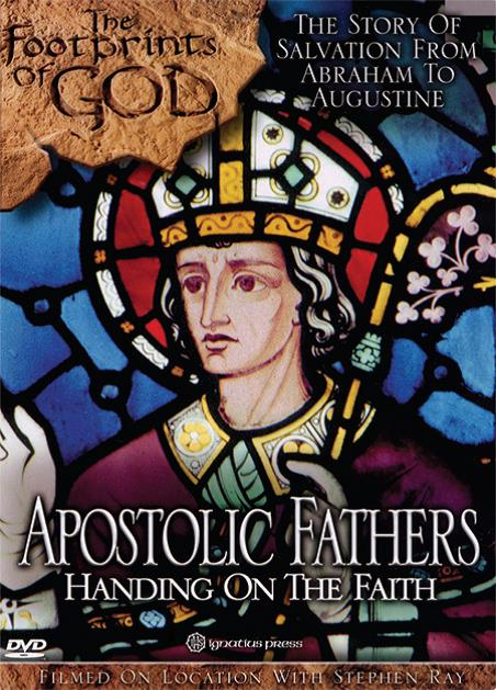 Footprints of God: Apostolic Fathers can be viewed here http://www.ignatius.com/Products/FOGAF-M/footprints-of-god-apostolic-fathers.aspx