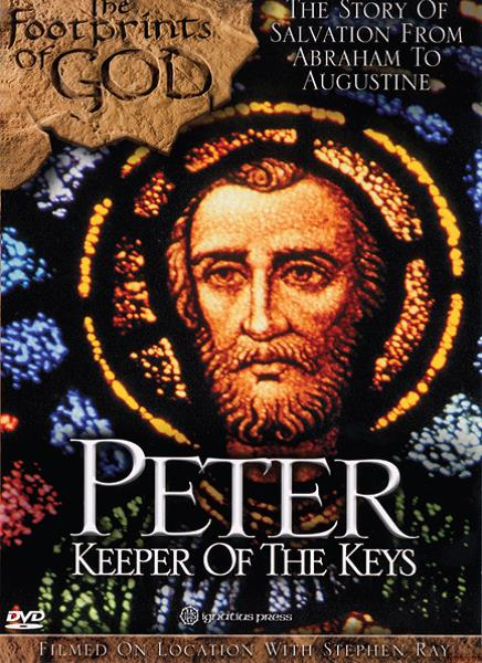 Footprints of God: Peter can be viewed here http://www.ignatius.com/Products/FOGPE-M/footprints-of-god-peter.aspx