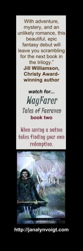 WayFarer (Tales of Faeraven #2) Bookmark
