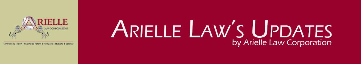Arielle Law's Updates Banner