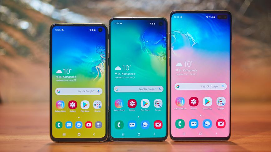 Samsung S10 and Note 10 comparison