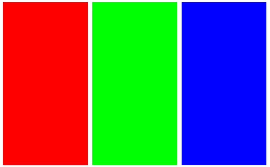 Red, Gree, Blue Screen