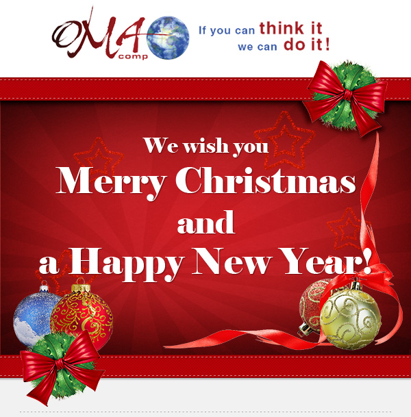 Happy Holidays from OMA Comp