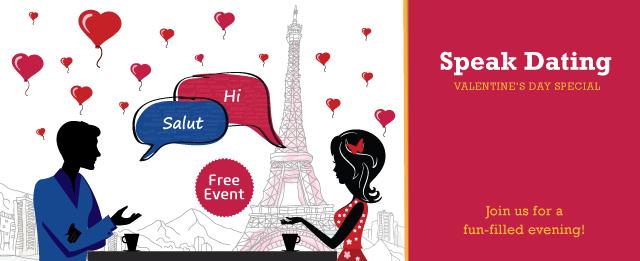 Speak Dating: Valentine's Day Special