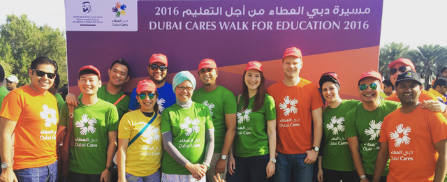 Eton Institute Joined Walk for Education 2016