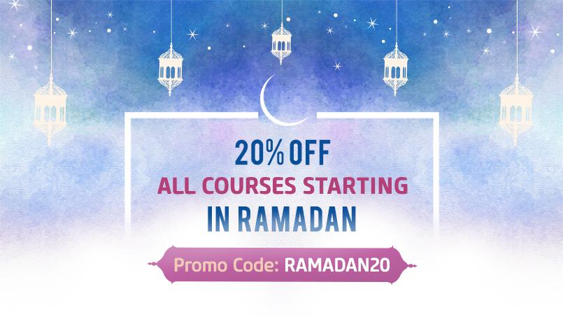 Ramadan 20% Offer