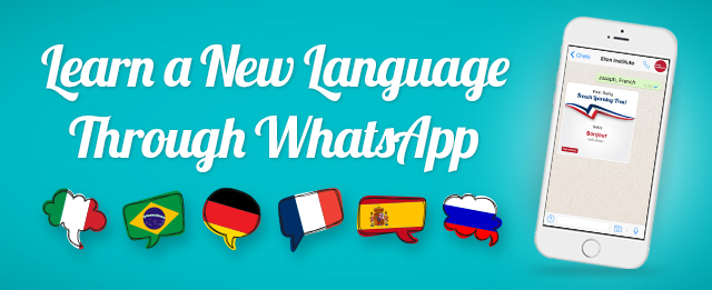 Unwrap Your Language Learning Gift Everyday Via WhatsApp