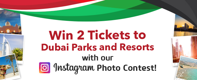 Win 2 Tickets to Dubai Parks and Resorts