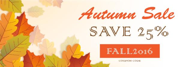 Cudoo Autumn Sale