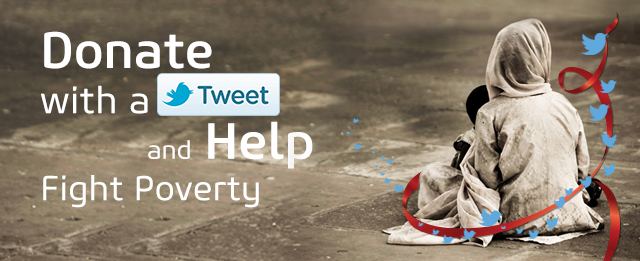 Donate with a Tweet