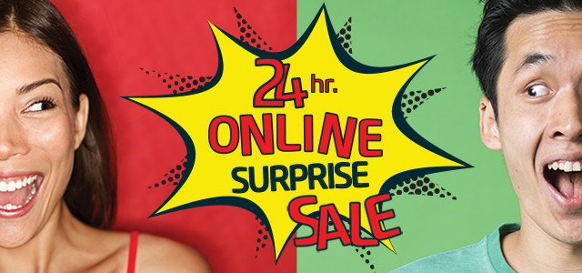 Online surprise sale