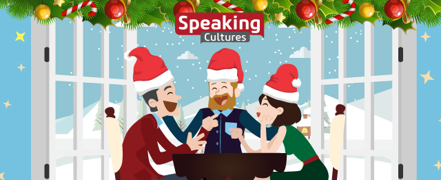 By Golly, Be Jolly! It's the Speaking Cultures Festive Season Special