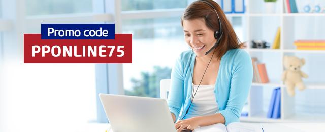 75% Online sale
