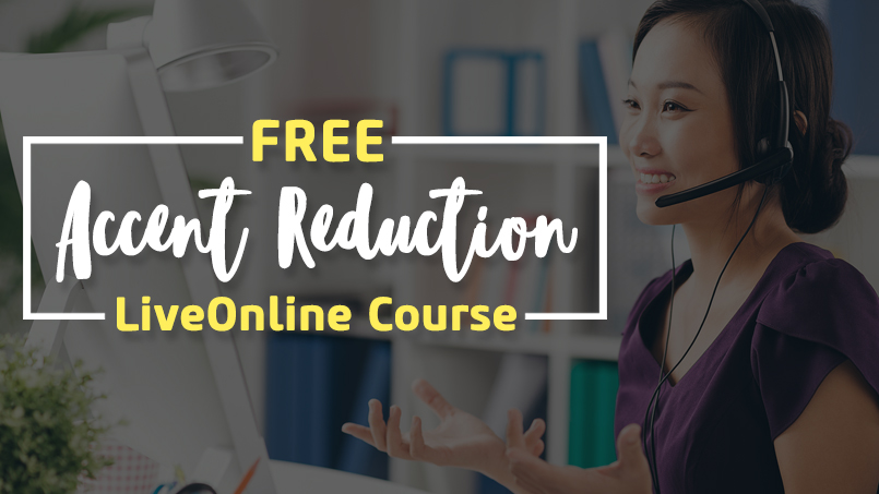 Free LiveOnline Accent Reduction Course